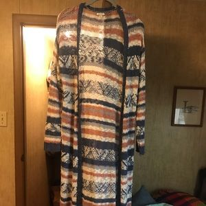 Crocheted Duster